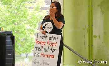 Rallying against racism: A moment of silence in Kenora for George Floyd - TVO
