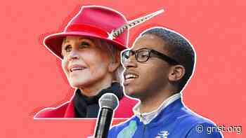 50 Years of Fighting: Jane Fonda talks activism with rising star Jerome Foster II - Grist