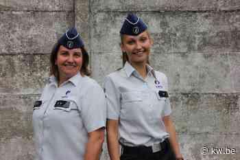 Daphné uit Pittem treedt in voetsporen van moeder Ann Dierickx bij de politie - Krant van Westvlaanderen