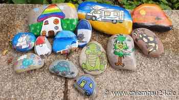 """""""Wer nimmt unsere Steine weg?"""" - kleine Künstler aus Grassau sind enttäuscht - chiemgau24.de"""