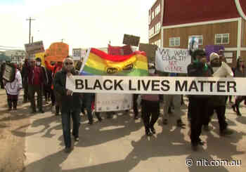 Black Lives Matter march in Iqaluit ties in Nunavummiut and RCMP - National Indigenous Times