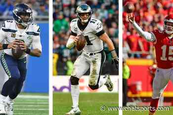 Carson Wentz vs. Patrick Mahomes & Russell Wilson? Jalen Mills Staying at CB? K'Von Wallace Starting At SS? | Eagles Rumors - Chat Sports