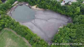 Havarie Teich bei Blankenburg füllt sich wieder - Volksstimme