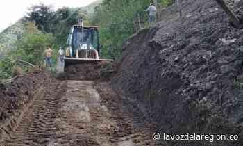Fue recuperada importante vía en zona rural de Tarqui - Noticias