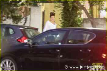 Kate Beckinsale & Boyfriend Goody Grace Spend Time at a Friend's House | kate beckinsale goody grace visit a friends house 01 - Photo - Just Jared