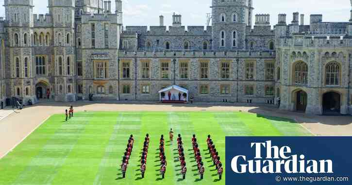 Queen's birthday marked with physically distanced event at Windsor Castle