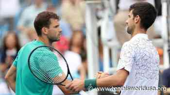 Grigor Dimitrov: Clearly, Novak Djokovic is the best player out there - Tennis World