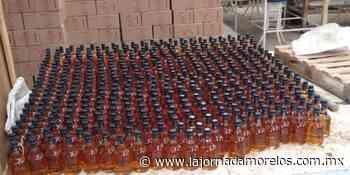 Catea Fiscalía fábrica clandestina de bebidas embriagantes adulteradas en Puente de Ixtla - La Jornada Morelos