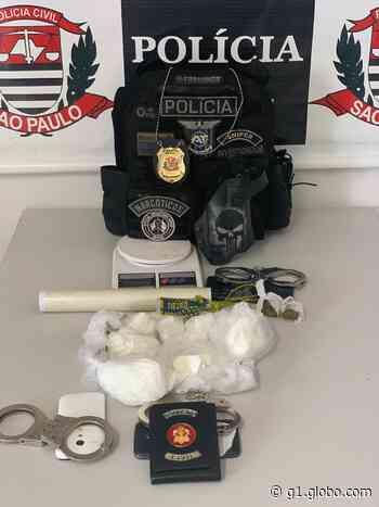 Motorista é preso suspeito de transportar drogas dentro de ambulância em Itu - G1