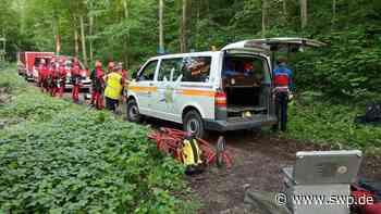 Einsatz für die Bergwacht Pfullingen: Gleitschirmflieger abgestürzt - SWP