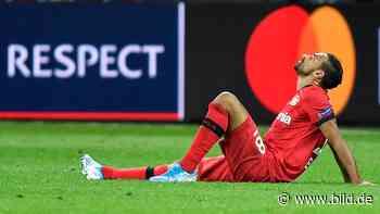 Bayer Leverkusen: Verletzt! Karim Bellarabi droht das Saison-Aus - BILD