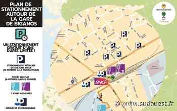Biganos adopte une nouvelle politique de stationnement - Sud Ouest