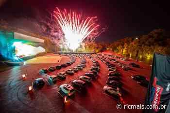 Maior drive-in do Sul do Brasil é inaugurado na Pedreira Paulo Leminski, em Curitiba - RIC Mais