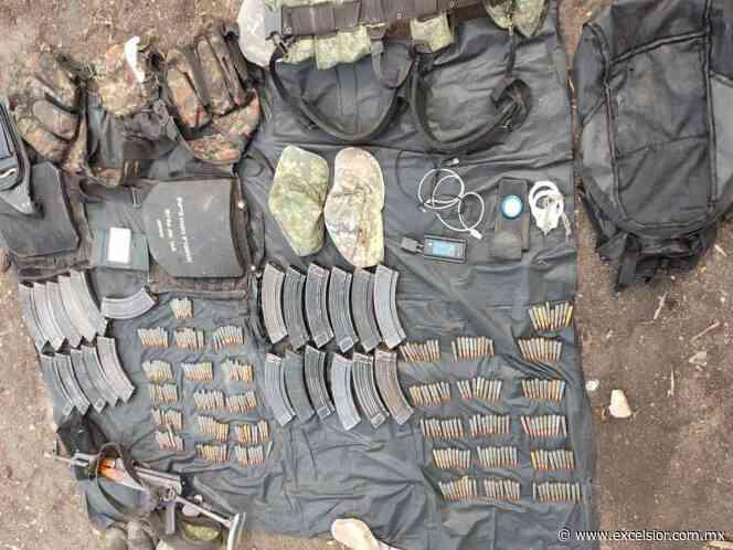 Caen dos y decomisan armamento en operativo en Cocula y Teloloapan - Excélsior