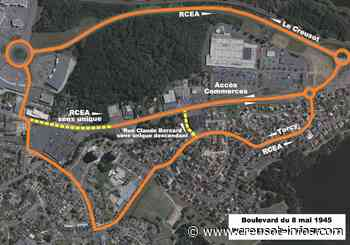 TORCY : Circulation modifiée, boulevard du 8 Mai, à partir de lundi - Creusot-infos.com