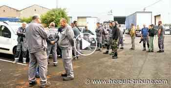 FLORENSAC - Journée de mécontentement aux ateliers Pera Pellenc - Hérault-Tribune