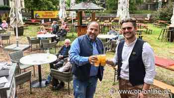 Dreieich: Am Faselstall haben die Hausmanns einen Biergarten eröffnet   Dreieich - op-online.de