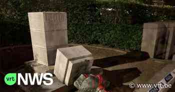 "Standbeeld Leopold II in Oudergem van sokkel getrokken: ""Gevoel dat we preken in woestijn"" - VRT NWS"