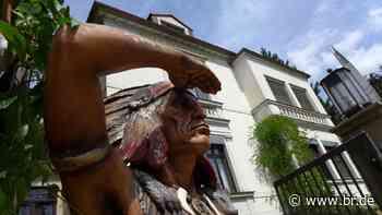Radebeul: Debatte um das komplizierte kulturelle Erbe Karl Mays - BR24