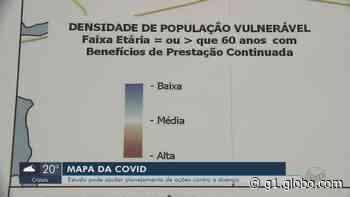 Mapeamento ajuda prefeitura a planejar ações contra o novo coronavírus em Alfenas, MG - G1
