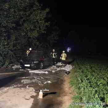 Auto hat bei Aldenhoven gebrannt - radiorur.de