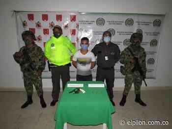 Cayó alias Conejo, presunto responsable de homicidios en Pelaya - ElPilón.com.co