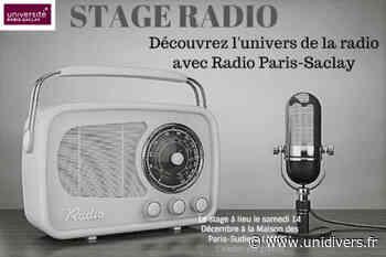 STAGE RADIO Maison des Paris-Sudiens (MaPS) samedi 15 février 2020 - Unidivers