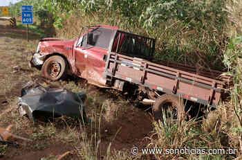 Veículos ficam danificados após violenta colisão na BR-163 em Nova Mutum - Só Notícias