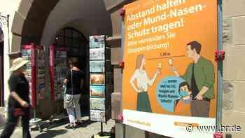 Stadt Volkach: Masken-Gebot in der Altstadt - BR24