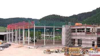 Hornberg: Baufortschritte gehen sichtbar voran - Hornberg - Schwarzwälder Bote