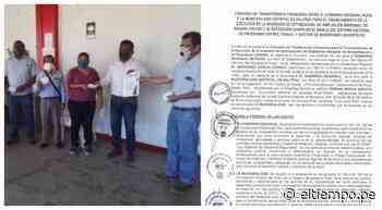 Morropón: firman convenio para mejorar servicio de limpieza en Salitral - Diario El Tiempo - Piura