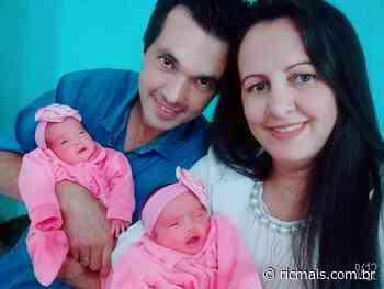 Casal de Mandaguari dá a luz a gêmeas após 18 anos de tentativas - RIC Mais Paraná