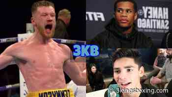 """Tennyson: """"I Could Win A World Title Against Haney Or Garcia!"""" - 3Kings Boxing"""