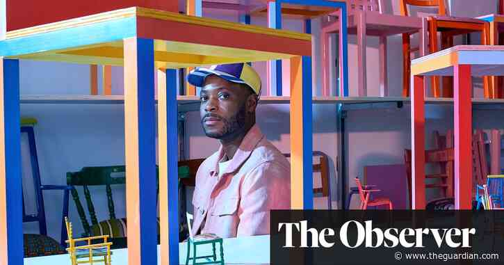 'Architecture and design should be for everyone': Yinka Ilori's colourful world
