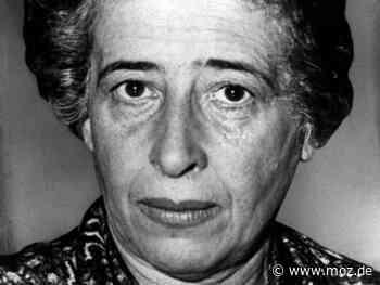 Philosophie: Freie Universität Berlin gibt Hannah-Arendt-Gesamtausgabe heraus - Märkische Onlinezeitung