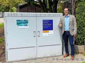 Hohenfels: Meilenstein beim Breitband-Ausbau in Hohenfels - SÜDKURIER Online
