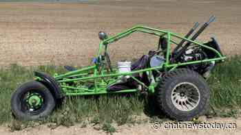 Redcliff Mounties seek owner of dune buggy abandoned in Cypress County - CHAT News Today
