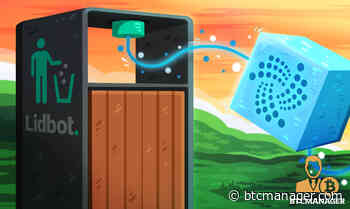 IOTA's (MIOTA) Tangle Helping Lidbot Foster Efficient Waste Management - BTCMANAGER