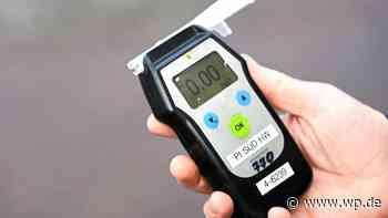 Lennestadt: Autofahrer schon frühmorgens betrunken am Steuer - Westfalenpost