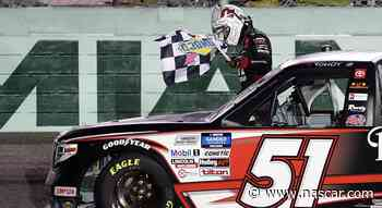 Kyle Busch rallies from pre-race penalty for Gander Trucks win at Miami - NASCAR