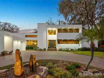 Carrollwood Home On White Trout Lake Features Modern Design - Patch.com