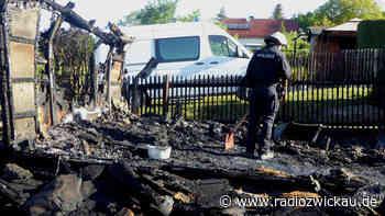 Wieder Laubenbrände in Crimmitschau - Radio Zwickau