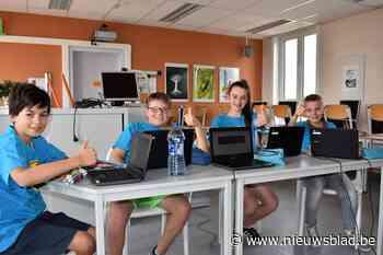 Zesdeklassers Paandersschool knap achtste in Vlaamse IT-wedstrijd