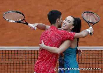 Jelena Jankovic lässt nach dem Sieg mit Novak Djokovic die Tür für ein Comeback offen - Tennis World DE