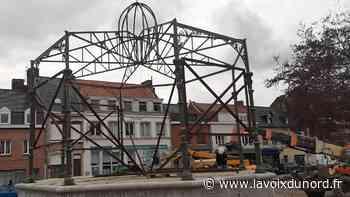 Wormhout: le kiosque à musique est en cours de remontage - La Voix du Nord