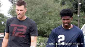 Tom Brady tutors Deion Sanders' high school quarterback son