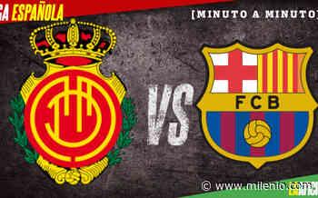 Mallorca vs Barca, Liga Española (0-4): GOLES Y RESULTADO - Milenio