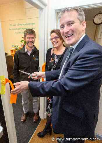 Damian Hinds: Our army of carers do a wonderful job - Farnham Herald