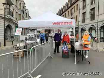 Meer bezoekers toegestaan op zondagsmarkt - Het Nieuwsblad