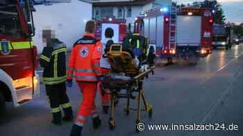 Ampfing - Angebranntes Essen ruft Feuerwehr auf den Plan   Ampfing - innsalzach24.de